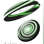 Rated Design Promotional Frisbee by Andreas Strauss