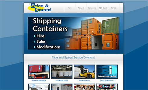 Price and Speed Website
