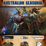 Australian Seasonal : Heroes of Newerth Tournament Sponsorship Print Poster