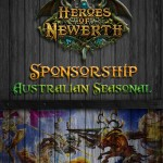 Australian Seasonal : Heroes of Newerth Tournament Sponsorship Handout
