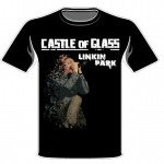 Linkin Park Castle of Glass Black Shirt Mockup