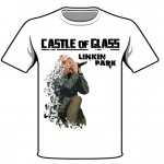 Linkin Park Castle of Glass White Shirt Mockup