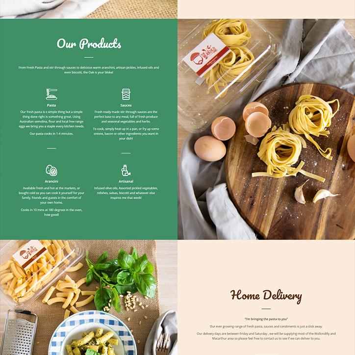Bearded Oak Branding & Website